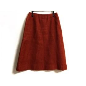 【中古】 シビラ Sybilla スカート サイズL レディース オレンジ