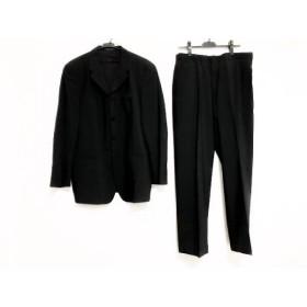 【中古】エンポリオアルマーニ EMPORIOARMANI シングルスーツ メンズ 黒 スペシャル特価 20190321