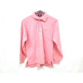 【中古】 ニジュウサンク スポーツ 23区 SPORT 長袖ポロシャツ サイズ1 S メンズ ピンク