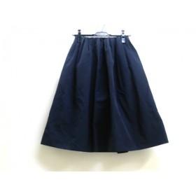 【中古】 ビューティアンドユース ユナイテッドアローズ スカート サイズF レディース ネイビー