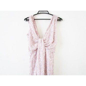 【中古】 エイソス ASOS ドレス サイズ6(UK) S レディース 美品 ピンク スパンコール