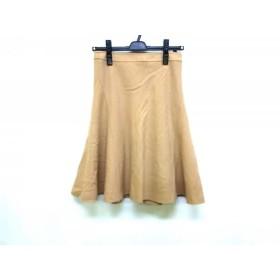 【中古】 バーバリーブルーレーベル Burberry Blue Label スカート サイズ36 S レディース ベージュ