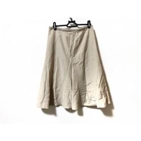 【中古】 ヒロコビス HIROKO BIS スカート サイズ11 M レディース アイボリー