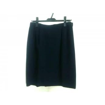 【中古】 バーバリーズ Burberry's ミニスカート サイズ13 L レディース ネイビー