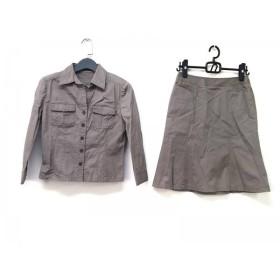 【中古】 アイシービー ICB スカートセットアップ サイズ9(JPN) M レディース ベージュ