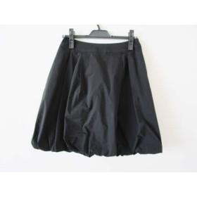 【中古】 トゥービーシック TO BE CHIC ミニスカート サイズ40 M レディース 美品 黒