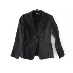 【中古】 ダナキャラン DKNY ジャケット サイズ2 M レディース 黒