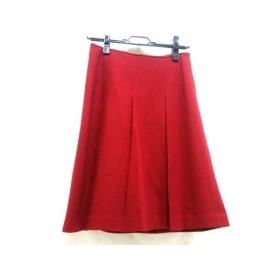 【中古】 ノーブランド スカート サイズ2 M レディース 赤