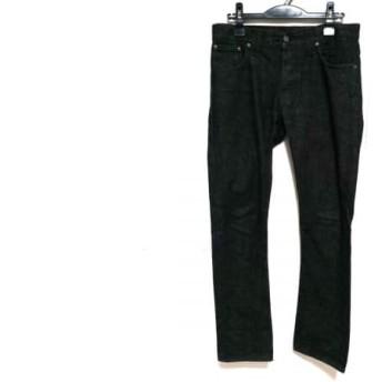 【中古】 ヌーディージーンズ NudieJeans ジーンズ サイズW31L32 メンズ 黒