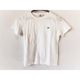 【中古】 ラコステ Lacoste 半袖Tシャツ サイズ38 M レディース 白