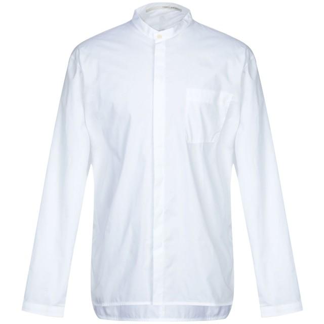 《期間限定 セール開催中》ISABEL BENENATO メンズ シャツ ホワイト 46 コットン 100%