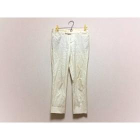【中古】 デプレ DES PRES パンツ サイズ0 XS レディース アイボリー