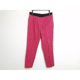【中古】 トゥモローランド TOMORROWLAND パンツ サイズ38 M レディース レッド 黒 collection