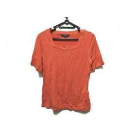 【中古】 バーバリーロンドン Burberry LONDON 半袖Tシャツ サイズL レディース オレンジ