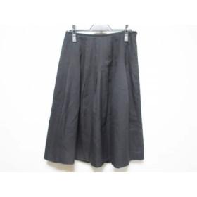 【中古】 ヨークランド YORKLAND スカート サイズ11 M レディース 黒