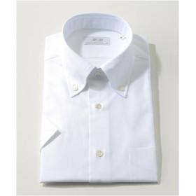 [シャツ]ダブルエイチ 半袖ドレスシャツ HH8SS-B-034 ホワイトオックス L(41)