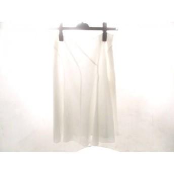 【中古】 エフデ ef-de スカート サイズ7 S レディース ホワイト