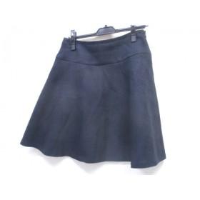 【中古】 ナチュラルビューティー ベーシック NATURAL BEAUTY BASIC スカート サイズL L レディース 黒