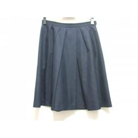 【中古】 ジャスグリッティー JUSGLITTY スカート サイズ1 S レディース ダークネイビー