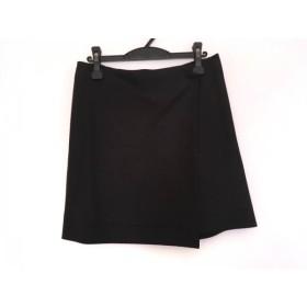 【中古】 アドーア ADORE 巻きスカート サイズ38 M レディース 黒