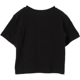 カットソー - earth music & ecology bortsprungt KIDSロゴと花のTシャツ