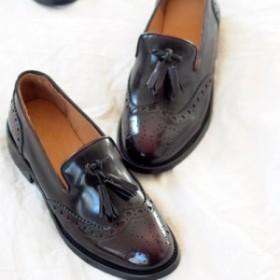 cb5cd362077b 厚底革靴 レディースウェッジソール厚底靴 美脚レディース痛くない スニーカー 学生靴 通勤カジュアルー