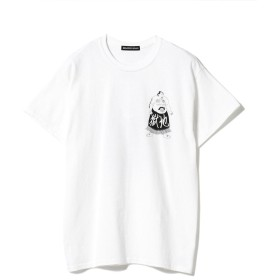 F-LAGSTUF-F / -Delivery Hells- 地獄特急便 Sumo Wrestler Tee メンズ Tシャツ WHITE XL