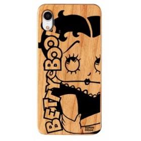 iPhoneXR ケース Betty Boop ベティー ブープ iPhone XR ウッドケース Gizmobies ギズモビーズ Woman お取り寄せ
