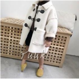 女の子/男の子コート 長袖アウター キッズコート 子供ファッション 子供服アウター キッズ  ファンション 防寒コート  フワフワ カ