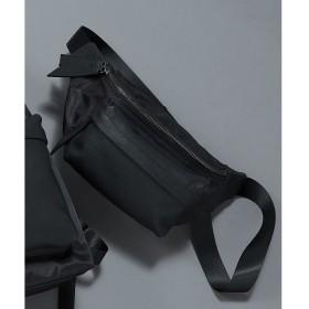 [マルイ] シェラック/SHELLAC レザー切替ウエストバッグ/セマンティックデザイン(semantic design)