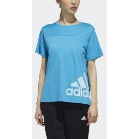 [マルイ] レディースアパレル W TEAM 半袖 ヘザー Tシャツ/アディダス(スポーツオーソリティ)(adidas)