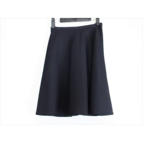 【中古】 ジャスグリッティー JUSGLITTY スカート サイズ0 XS レディース ダークネイビー メッシュ