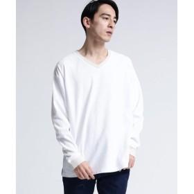tk.TAKEO KIKUCHI / ティーケー タケオキクチ カルゼカラーコンビTシャツ(長袖)