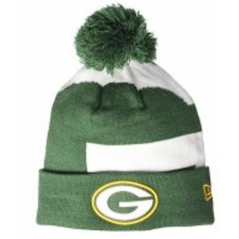 ニューエラ メンズ 帽子 アクセサリー Green Bay Packers Logo Whiz 3 Dark Green