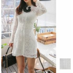 韓国 ファッション レディース ワンピース パーティードレス 結婚式 お呼ばれドレス お呼ばれワンピース ショート ミニ丈 秋 冬 春 パー