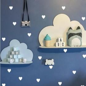 ウォールステッカー 壁紙シール ハート 壁装飾 装飾 子供部屋 寝室 ステッカー 雑貨 壁 壁紙 シール リビング 小物 DIY リメイク リフォーム