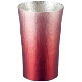 大阪錫器 錫製タンブラー200ml 赤 16-1-1RD HOKAGE(代引不可)