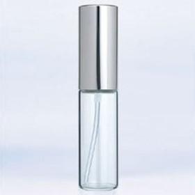グラスアトマイザー プラスチックポンプ 無地 6202 アルミキャップ シルバー 10ml ヤマダアトマイザー YAMADA ATOMIZER