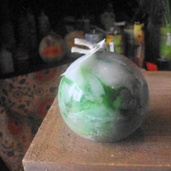 キャンドル 球体8cm d576