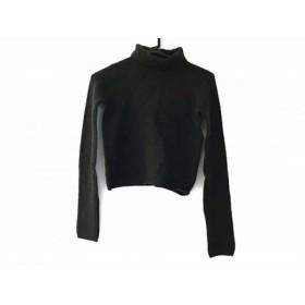 【中古】 セイ TSE 長袖セーター サイズS レディース ダークグリーン カシミヤ/タートルネック