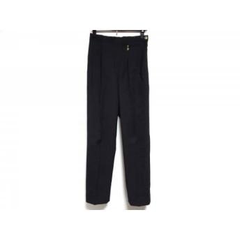 【中古】 ハロッズ HARRODS パンツ サイズ3 L レディース ダークグレー