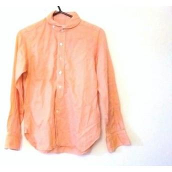 【中古】 ハバーサック HAVERSACK 長袖シャツ サイズS メンズ オレンジ