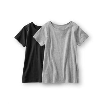 半袖インナーTシャツ2枚組 レディース