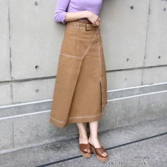 [マルイ]【セール】◆19春夏新作◆ステッチデザインスカート/ランダ(RANDA)
