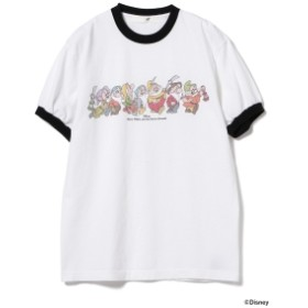 south for F × BEAMS / 別注 Seven Dwarfs プリント Tシャツ メンズ Tシャツ NATURAL M