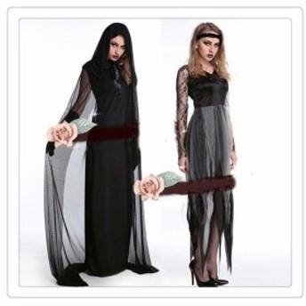 ハロウィン ドレス ワンピース 変身 コスプレ仮装 魔女 制服可愛い 二次会 イベント 衣装 変装 コスチューム