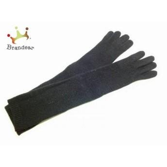 アンタイトル UNTITLED 手袋 レディース 美品 黒 ロング ウール 新着 20190602