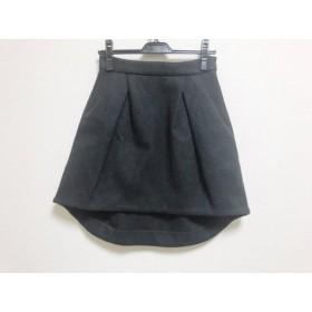 【中古】 ヨーコ チャン YOKO CHAN スカート サイズ38 M レディース ダークグレー