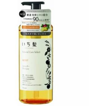 いち髪 ナチュラルケアセレクト モイスト シャンプー ポンプ 480ml(4901417722034)