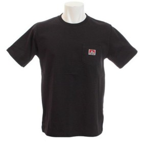 BEN DAVIS 【オンライン特価】 ピスネーム ポケット付きTシャツ 9580000-BLK (Men's)
